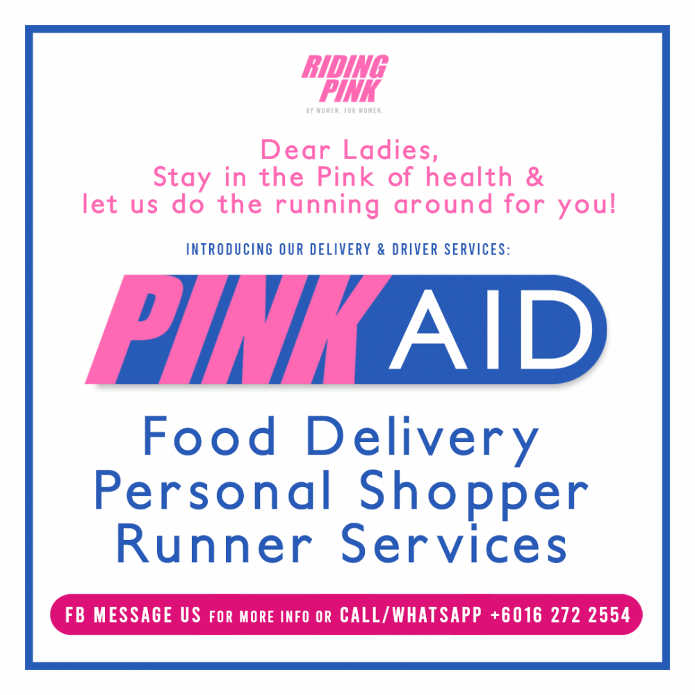 Introducing PinkAID! Riding Pink's latest service!